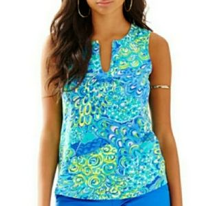 Lilly Pulitzer Marlowe tank top Size S
